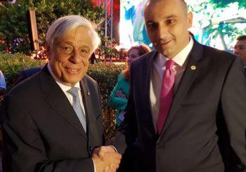 ATINA Darko Banjac na skupu pravoslavnih zemalja sa predsjednikom Grčke