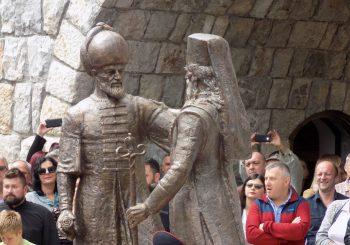 ANDRIĆGRAD Otkriven spomenik braći Sokolović, Mehmed paši i Svetom Makariju