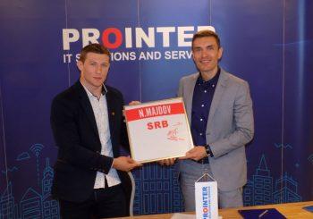 """Kompanija """"Prointer"""" potpisala sponzorski ugovor sa Nemanjom Majdovom"""