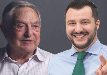 SOROS: Salvinija plaća Putin, SALVINI: Sramota je što je špekulant Soros pozvan u Italiju