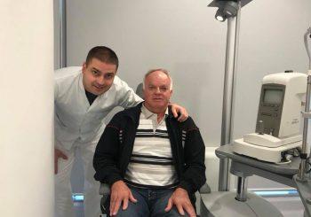 """Australijanac Rejmond na operaciji u banjalučkoj klinici """"Svjetlost"""""""