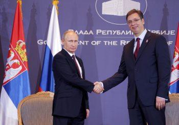 PRIHVATIO VUČIĆEV POZIV Putin u Srbiji 1. novembra
