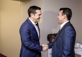 PREMIJERI SAGLASNI Atina i Skoplje postigli dogovor o imenu Sjeverna Makedonija