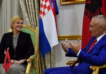 KOLINDINA PORUKA U TIRANI Hrvati i Albanci su braća po oružju, to se ne zaboravlja