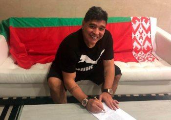 ARGENTINAC U BJELORUSIJI Maradona novi predsjednik Dinama iz Bresta