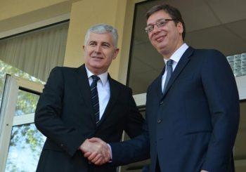 ČOVIĆ KOD VUČIĆA Razgovor o ukupnim odnosima srpskog i hrvatskog naroda