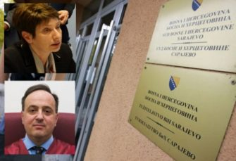 ZVANIČNICI PRAVOSUĐA BIH Ranko Debevec i Jadranka Lokmić-Misirača dobili prijetnje smrću
