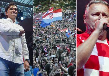 DOČEK Dalić u Livnu pred 40.000 Hrvata, uz selektora Ćiro i Tompson, Mamić se nije pojavio VIDEO