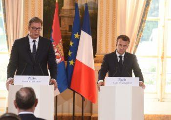 VUČIĆ KOD MAKRONA Dobio sam podršku predsednika Francuske za kompromis sa Albancima