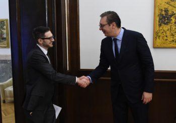 KONSULTACIJE Vučić upoznao Sorosa juniora sa tokom pregovora Beograda i Prištine