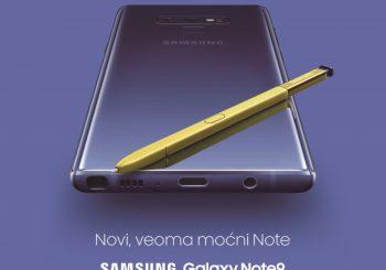 Stigao je novi supermoćni Galaxy Note 9