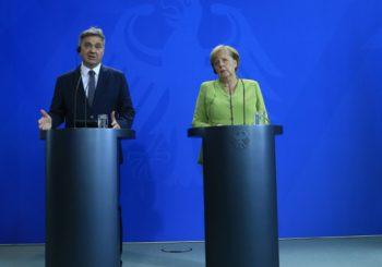 ZVIZDIĆ SA MERKELOVOM Njemačka kancelarka protiv promjena granica na Balkanu