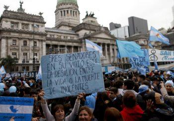 SENATORI ODLUČILI Argentina glasala protiv legalizacije abortusa