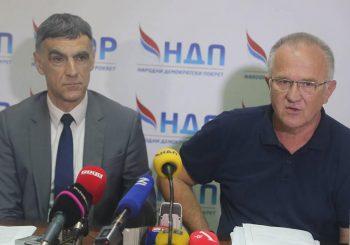 NDP: Ne idemo na konsultacije kod Dodika, bićemo na posebnoj sjednici NSRS