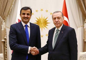 POMOĆ U SUKOBU SA SAD: Katarski emir obećao Erdoganu 15 milijardi dolara