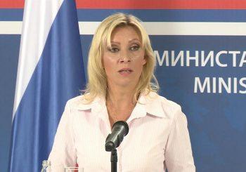 ZAHAROVA: Razgovor Putina i Trumpa o Kosovu – lažna vijest