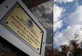 PORESKA UPRAVA RS: Ostvaren rast prihoda, u 2019. prikupljeno 840 miliona KM