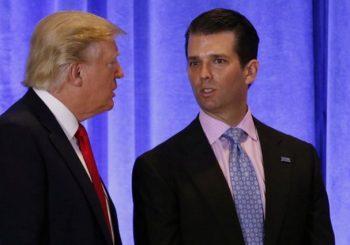 """""""POTPUNO LEGALNO"""" Tramp priznao da se njegov sin sastao s Rusima"""