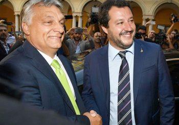 ORBAN Ja sam zaustavio migrante na kopnu, a moj heroj Salvini na moru