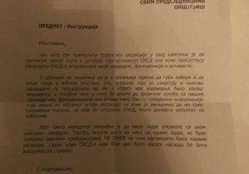 """DIREKTIVA Vrh SNSD-a traži od aktivista na terenu da ne reaguju na """"provokacije"""" opozicionara"""