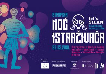 Otvoren konkurs za učešće u Noći istraživača 2018