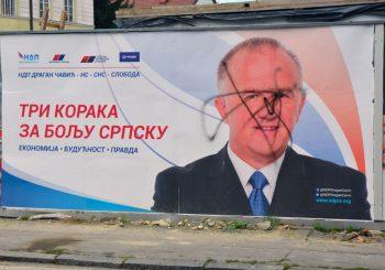 DUPLI STANDARDI Policija u Trnovu ekspresno kažnjava zbog uništavanja bilborda, a u Banjaluci i ne baš