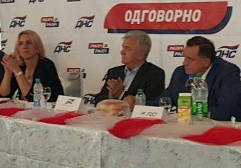 IZBORI: Dodik i Cvijanović na skupu DNS-a, SZP u Čajniču i Rudom, SP u Tesliću