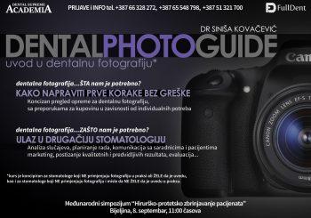 """""""Uvod u dentalnu fotografiju"""" 8. septembra u Bijeljini"""