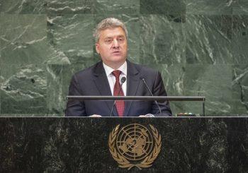 UOČI REFERENDUMA Predsjednik Ivanov sa govornice UN pozvao Makedonce na bojkot