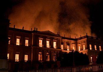 IZGORIO NACIONALNI MUZEJ BRAZILA Izgubljeno 200 godina istraživanja i znanja
