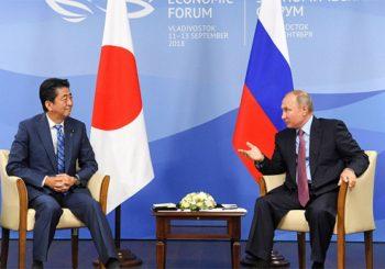NAKON 70 GODINA PREGOVORA Rusija i Japan zaključuju mirovni sporazum