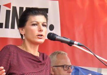 """NJEMAČKA Sara Vagenkneht osnovala pokret """"Ustani"""", okuplja sve protivnike Merkelove sa ljevice"""