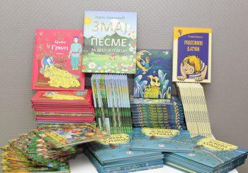 VELIKA DONACIJA POVODOM POČETKA ŠKOLSKE GODINE Mlijekoprodukt obezbijedio 300 knjiga za biblioteke sedam osnovnih škola