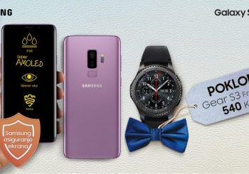 OBRADUJTE SE SUPER POKLONOM! Gear S3 Frontier sat i osiguranje ekrana na poklon uz kupovinu S9 ili S9+ telefona