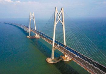 NAJDUŽI NA SVIJETU Most od 55 kilometara povezao Hongkong i Makao sa kontinentalnom Kinom