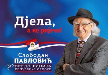 POVLAČENJE Slobodan Pavlović odustao od kandidature za predsjednika RS i podržao Cvijanovićevu
