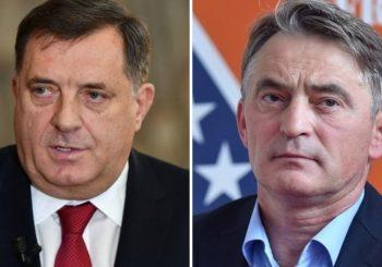 KOMŠIĆ PORUČIO BEOGRADU: Granica je na Drini, poštujte i neće biti problema; DODIK: Komšić ima krizu legitimiteta