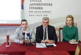 HERCEGOVAČKI SDS: Podržavaju Govedaricu, traže smjenu Nine Bukejlović