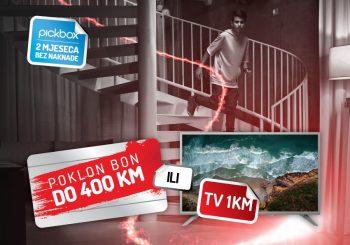 Sjajna ponuda uz m:tel TV Pakete – izaberite poklon bon ili TV uređaj