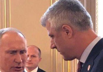 TAČI SE IPAK SASTAO SA PUTINOM Priča o podjeli teritorija zainteresovala predsjednika Rusije?