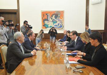SASTANAK VUČIĆ - CRNADAK Pozdravili zahtjev državnog sekretara SAD da Priština ukine takse