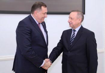 SANKT PETERBURG Dodik i Beglov otvorili Trgovinsko predstavništvo RS