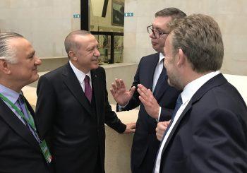 PARIZ Razgovor Izetbegovića, Erdogana i Vučića