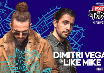 VODEĆI SVJETSKI DJ DUO Dimitri Vegas & Like Mike donose spektakl u finalu EXIT festivala!