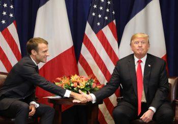 PREDSJEDNIK SAD UVRIJEĐEN Tramp ignorisao Makronovu srdačnost nakon izjave o evropskoj vojsci