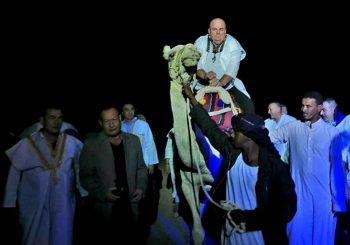 ZVANIČNA POSJETA EGIPTU Kad Palma uzjaše kamilu