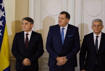 NOVI POKUŠAJ: Komšić zakazao sjednicu Predsjedništva BiH za utorak, imenovanje Zorana Tegeltije jedina tačka