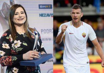 PRIZNANJA Edin Džeko i Larisa Cerić izabrani za sportiste godine u BiH