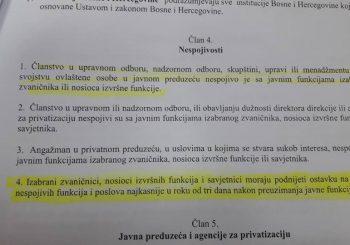 MISTERIJA Poslanik i direktor Nenad Nešić u sukobu interesa, CIK BiH ne reaguje