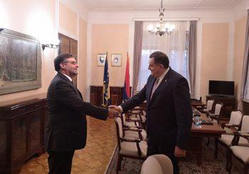 DODIK SA PALMEROM: RS za demilitarizaciju, protiv puta BiH u NATO